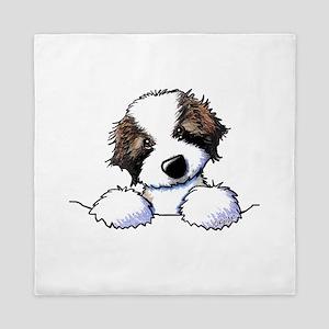 St. Bernard Puppy Pocket Queen Duvet