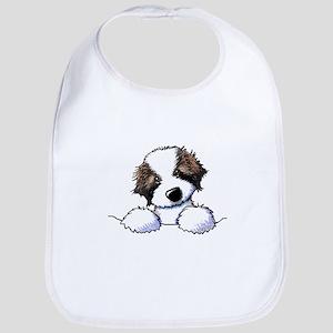 St. Bernard Puppy Pocket Bib