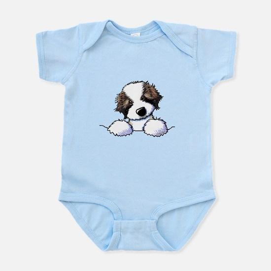 St. Bernard Puppy Pocket Body Suit