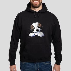 St. Bernard Puppy Pocket Hoodie