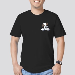 St. Bernard Puppy Pocket T-Shirt