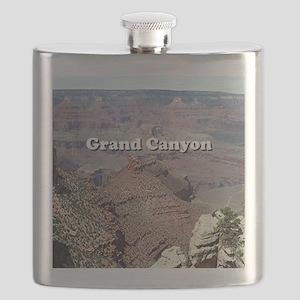 Grand Canyon South Rim 3 (caption) Flask