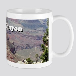 Grand Canyon South Rim 3 (caption) Mugs