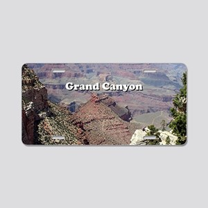Grand Canyon South Rim 3 (c Aluminum License Plate