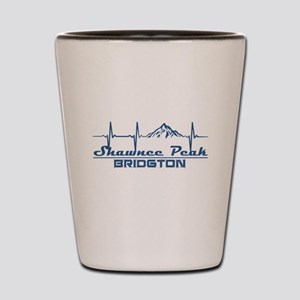 Shawnee Peak - Bridgton - Maine Shot Glass