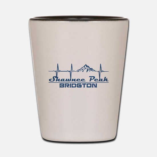 Shawnee Peak - Bridgton - Maine Shot Glass