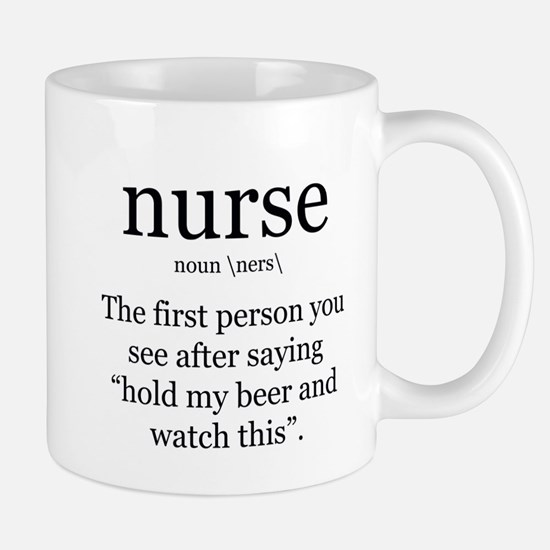 nurse definition Mugs