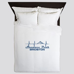 Shawnee Peak - Bridgton - Maine Queen Duvet