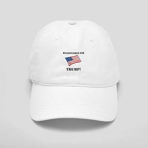 Flag Billionaires for Trump Baseball Cap