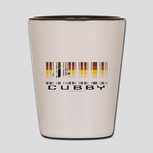 CUBBY barcode Shot Glass