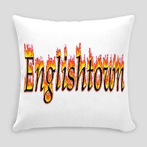 Englishtown Flame Everyday Pillow