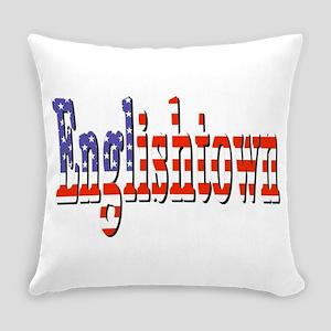 Patriotic Englishtown Everyday Pillow