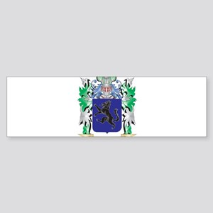 Aba Coat of Arms - Family Crest Bumper Sticker