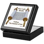 Hebrews 10:7 Keepsake Box