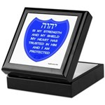 YHVH Is My Shield Keepsake Box