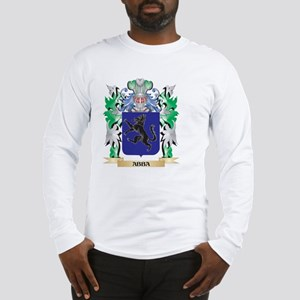 Abba Coat of Arms - Family Cre Long Sleeve T-Shirt