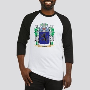 Abba Coat of Arms - Family Crest Baseball Jersey