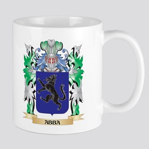 Abba Coat of Arms - Family Crest Mugs