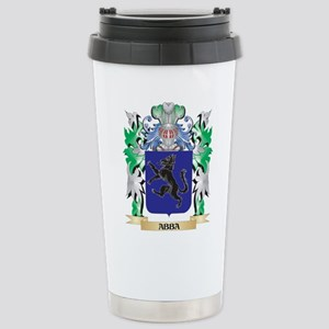 Abba Coat of Arms - Fam Stainless Steel Travel Mug