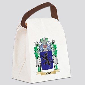 Abba Coat of Arms - Family Crest Canvas Lunch Bag