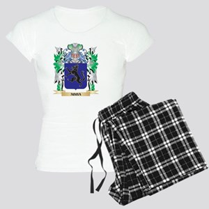 Abba Coat of Arms - Family Women's Light Pajamas