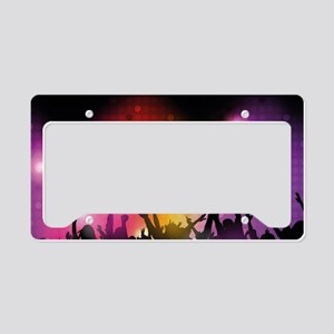 Concert and Applause License Plate Holder