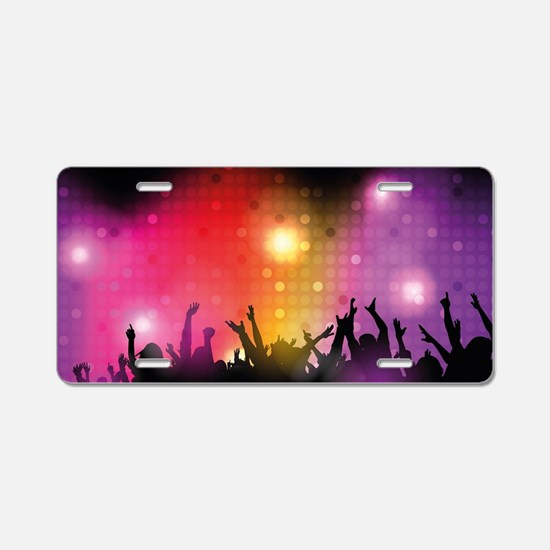 Concert and Applause Aluminum License Plate