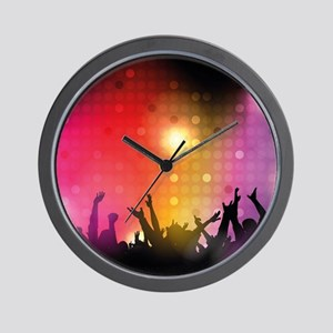 Concert and Applause Wall Clock
