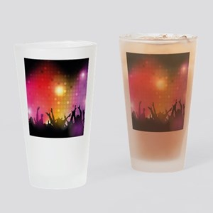 Concert and Applause Drinking Glass