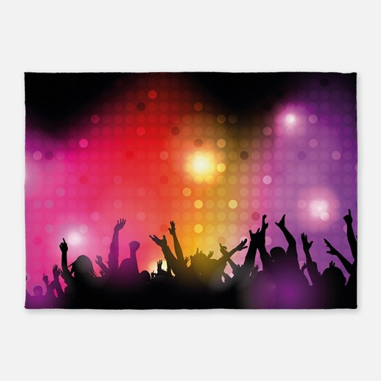 Concert and Applause 5'x7'Area Rug