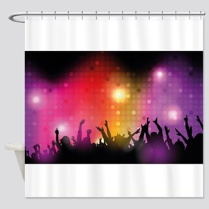 Concert and Applause Shower Curtain