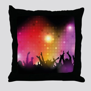 Concert and Applause Throw Pillow