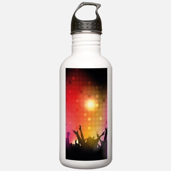 Concert and Applause Water Bottle
