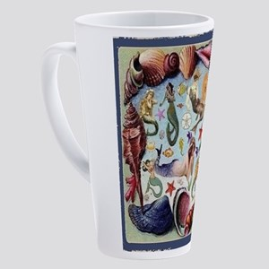 Mermaids 17 Oz Latte Mug