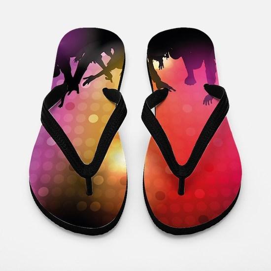 Concert and Applause Flip Flops