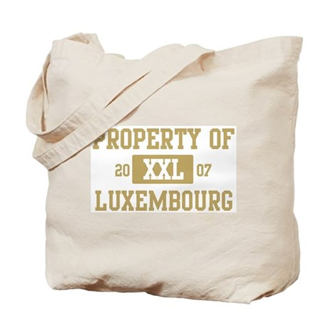 Property of Luxembourg Tote Bag
