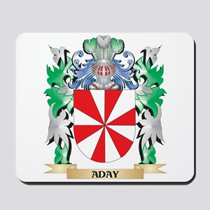 Aday Coat of Arms - Family Crest Mousepad
