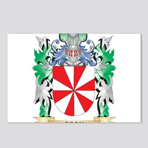 Aday Coat of Arms - Famil Postcards (Package of 8)
