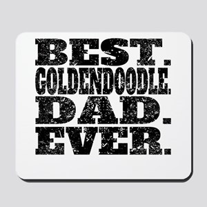 Best Goldendoodle Dad Ever Mousepad