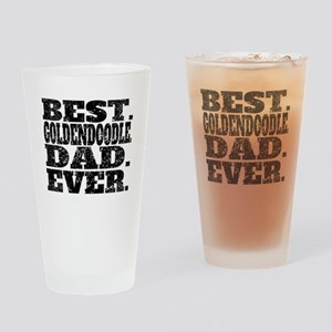 Best Goldendoodle Dad Ever Drinking Glass