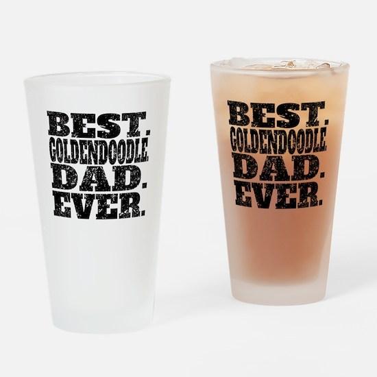 Best Goldendoodle Dad Ever Drinking Glass