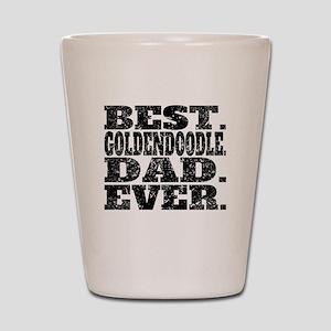 Best Goldendoodle Dad Ever Shot Glass