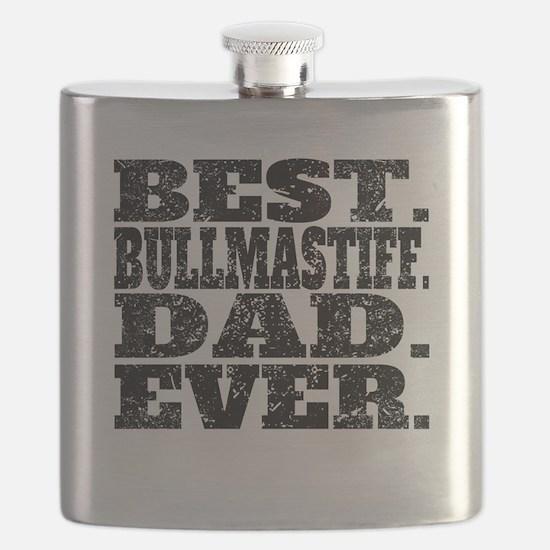 Best Bullmastiff Dad Ever Flask
