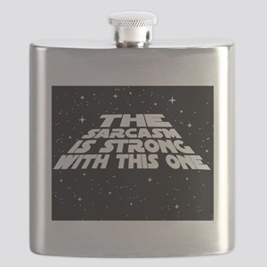 The Sarcasm is Strong Flask