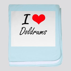 I love Doldrums baby blanket