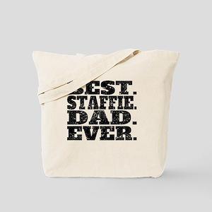 Best Staffie Dad Ever Tote Bag