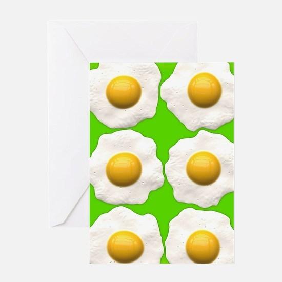 Beaten Egg Funny Yolk Greeting Cards | CafePress