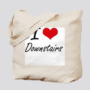 I love Downstairs Tote Bag