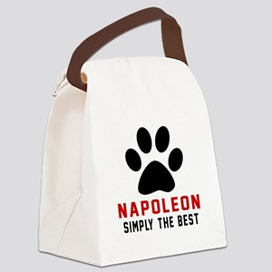 Napoleon Simply The Best Cat Desi Canvas Lunch Bag