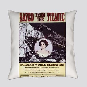 saved from the titanic Everyday Pillow